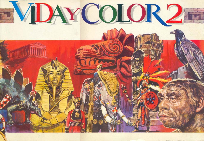 Álbum de cromos de Vida y Color número 2