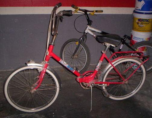 Bicicleta BH plegable- Juegos y juguetes de los años 70/80