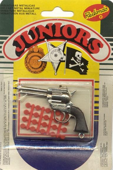 Revólver de petardos - Juegos y juguetes de los años 70/80